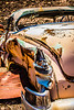 Rusty Car in the Desert