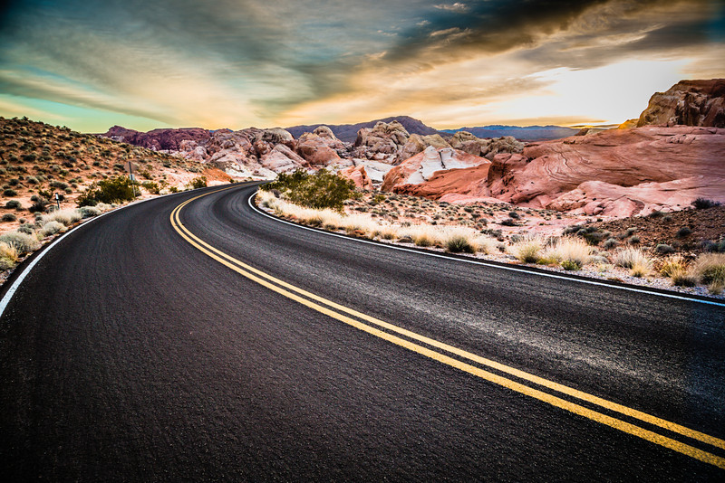 Valley of Fire State Park Highway