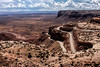 Switchback Road called the Moki Dugway