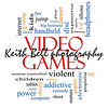Video Games Word Cloud Concept with great terms such as addictive, violent, children, play, rating, fun and more.