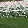 Folding Chairs on Lawn