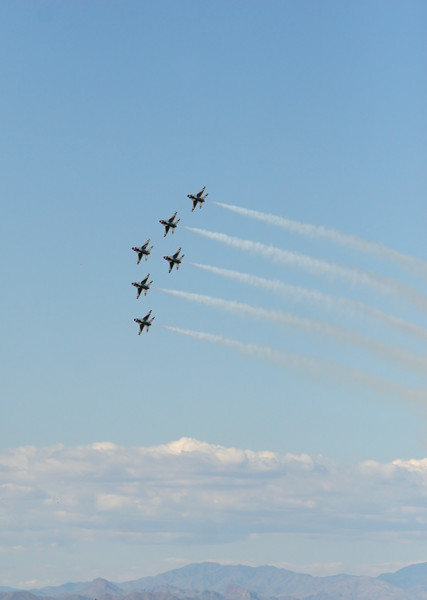 Fighter jet formation