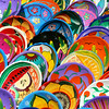 Colorfully Painted Bowls