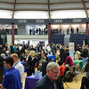 The Collins Arena at Brookdale Community College, Lincroft, was the venue used to hold the Monmouth County Spring Job Fair that featured 130 employers on Friday, April 4, 2014. /Russ DeSantis Photography and Video, LLC