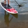 paddling stand up paddleboard