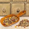 organic herbal tea with chamomile