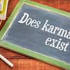 Does karma exist question on blackboard