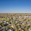 aerial landscape of Colorado city