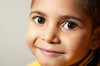 Close up of six-year-old Aboriginal boy
