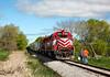 Wisconsin & Southern 3802 (EMD GP38AC)  - Richfield, WI