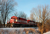 Wisconsin & Southern 4001 (EMD SD40-2) - Ackerville, WI
