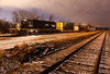 Illinois Central 6201 (EMD SD40-3) - DBR Junction (Germantown, WI)