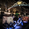 """Foot Taxi""<br /> <br /> Pedicabs in downtown San Diego, California, in the Gaslamp Quarters."