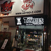 Invasion of the Astro Zombies. A shop selling collectable toys in Den Den Town, Osaka.