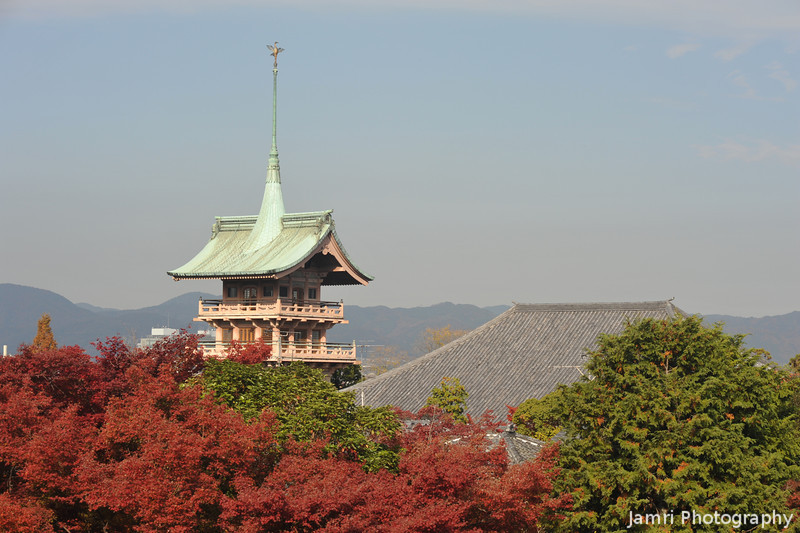 Gion Tower from Kodai-ji