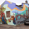 Street art in Woodstock, Cape Town