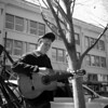 Portrait of a Street Musician in Downtown Asheville #2
