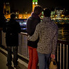 Romantic moment along the South Bank