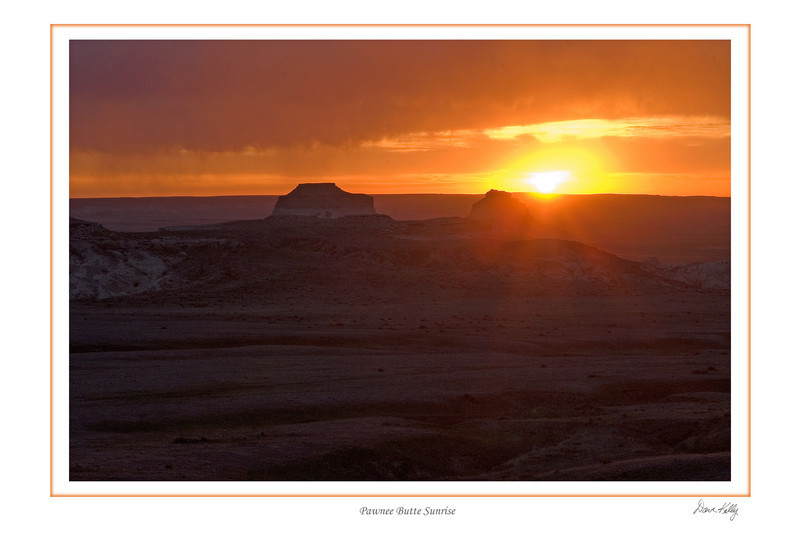 Pawnee butte sunrise