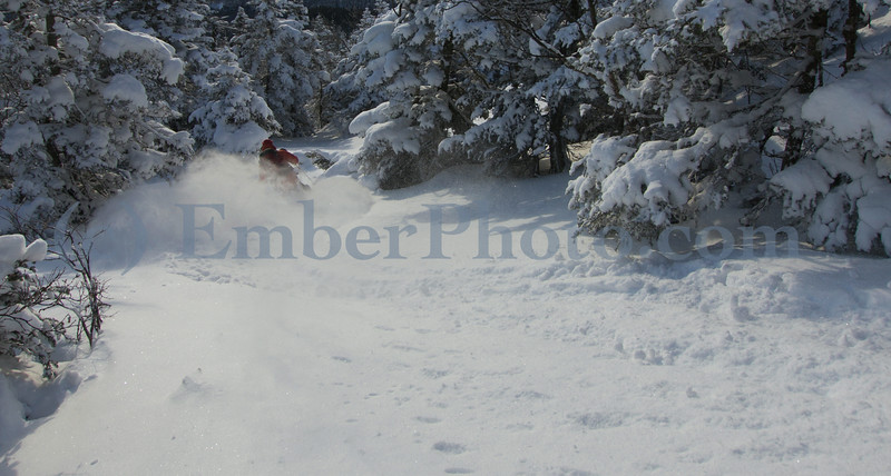 Green Mountains, Vermont - Skier: Dan Smith
