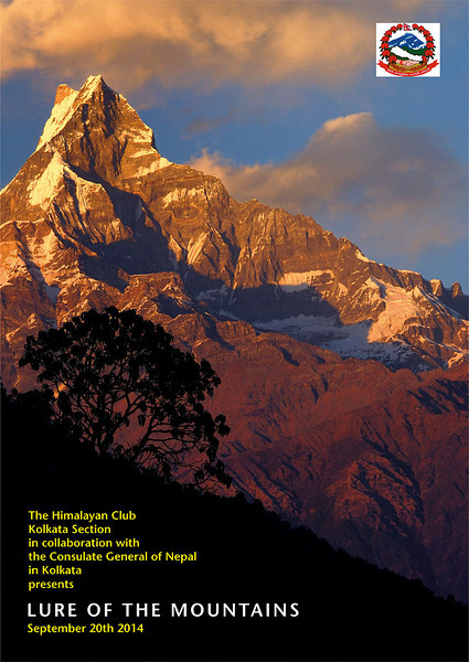 Himalayan Club booklet cover - September 20th 2014