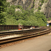 Waiting to see a train at the <br /> Train Station<br /> Harper's Ferry, WV<br /> Sunday, 14 June, 2009