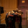 wE 06-21-09 Irvine Campus Northwood Highschool sunday worhsip by Angelina Tse worship team pray together before the service