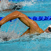 July 24, 2014 -Leuan Lloyd of Wales swimming in the Men's 400m Freestyle race during the Individual Swimming Qualifications at the 20th Commonwealth Games in Glasgow, Scotland.