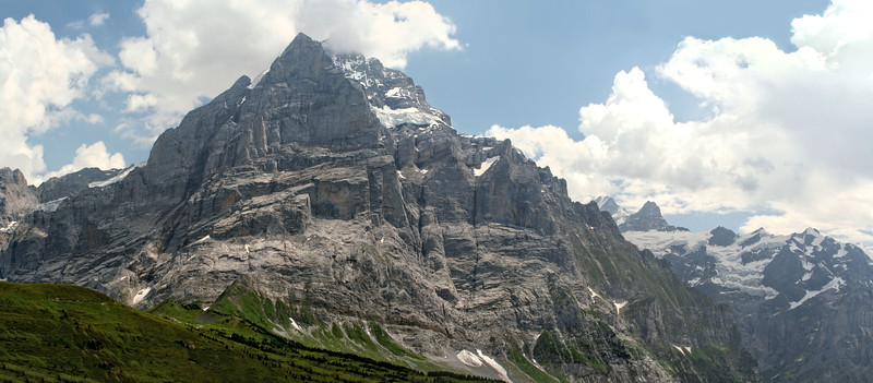 The Wetterhorn from near Grosse Scheidegg