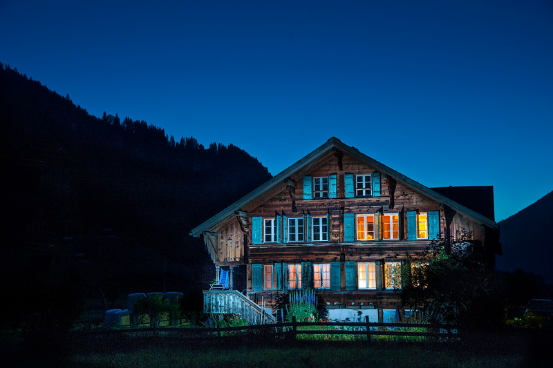 Swiss farmhouse