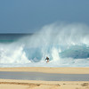 JUNE 9 2013<br /> Boogie Boarder, Yoke's Beach Park, West side, Oahu Hawaii