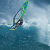 APRIL 7 2013         WINDSURFING   A beautiful day with a nice swell that has moved in. Ho'okipa Beach, Maui Hawaii