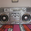 Giant 4 x 8 ghetto blaster, Marfa