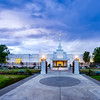 Medford Oregon Temple Sunset