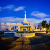 Medford Oregon Temple and Stars