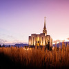 Oquirrh Mountain Temple (Behind)
