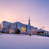 Reno Temple after Snow