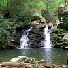 Waterfall #2 Gee Creek Wilderness <br /> Slopes of Starr Mtn. TN