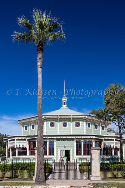 The Kempner Park Pavillion in Galveston, Texas, USA.