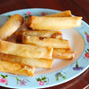 Banana springrolls (by Margaux and Emilie)