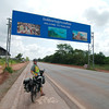 Entering Thailand from the Lao-Thai border at Nong Khai