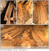 Many log coffins, as much as tourists are allowed to see Cave in Maehongson @ Tham Lod Cabe