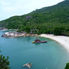 Beautiful cove in the Northeastern part of Ko Pha Ngan