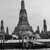 Wat Arun just across the Chang Phraya river from Chinatown and