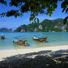 The infamous long boats of Ko Phi Phi