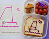 What's in our lunch box: Books are great inspiration for fun lunches! Harold and the Purple Crayon from Nina of Lunches with Love DETAILS ► http://bit.ly/1ia1fmv