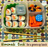 In our lunch box: Grown-Ups Gotta Eat: Week 9 A Boy & His Lunch has some delish adult lunch ideas on her post HERE: http://bit.ly/1076M5s