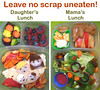 "What's in our lunch boxes: Mama's Scrap Heap Lunch. Her lunch is recycled/re-used! All the spinach, carrot, fruit leather, and cheese scraps from her daughter's lunch went into her lunch: <a href=""http://bit.ly/14AYlVl"">http://bit.ly/14AYlVl</a>"