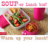 "Soup and salad lunch ideas. Warm up your lunch box! ""Rich & Hearty Tomato Florentine with Andouille Sausage pairs perfectly with this Spinach-Strawberry Salad. To add a little crunch throw in some Green Giant Veggie Chips and a handful of almonds and raisins."" MORE from Betty Crocker ► http://bit.ly/1cA5qZp"