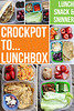 "TIMESAVER! Make easy meals in the Crock-pot AND have leftovers to pack up for tomorrow's lunch.  GREAT ideas and recipes from Tracie of Lunch, Snack and ""Sninner"" HERE ► http://bit.ly/17Za5PS PIN for later ► http://bit.ly/17ZaFx0"